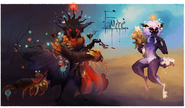 {Halloween Auction} Famine [closed] by AgentCorrina