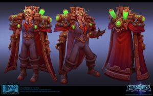 Kael'thas Steampunk Final by FirstKeeper