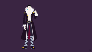 Chrollo Lucilfer (Hunter x Hunter) Minimalism by greenmapple17