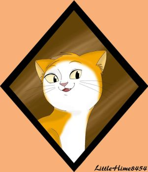 Smiling Cat by LittleHime8454