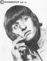Ringo Starr, 1965 by ThePeculiarMissE