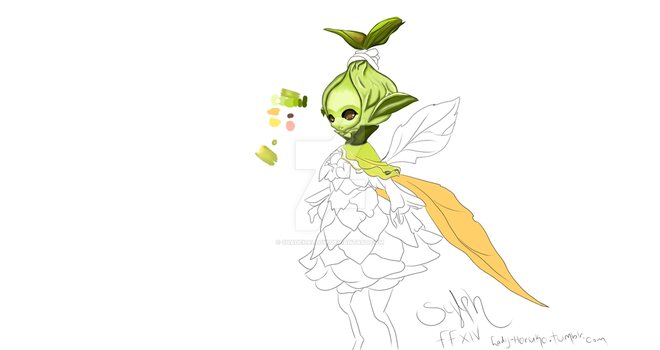 sylph wip by Shadehallow