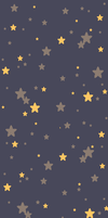 Yellow and Purple Stars Background (F2U) by DominickLuhr