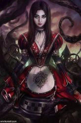 Alice Asylum: AngelaBaby as Alice by OmriKoresh