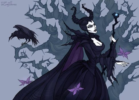 Maleficent by IrenHorrors