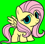 Fluttershy being sweet by Zanny-Marie