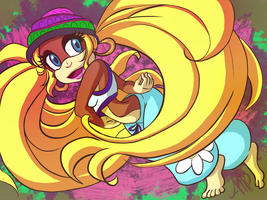 Tiny Twirl by sonicfreak276