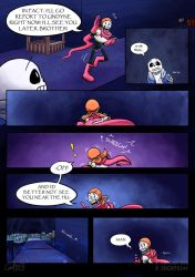 .: SwapOut : UT Comic [3-18] :. by ZKCats