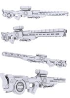 Prototype Rifle by nahiyankhan