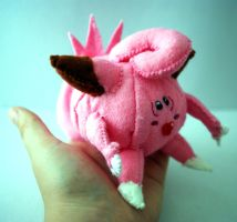 Clefairy plush for sale by Ljtigerlily