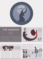 Fae Anatomy: The Merrow page prototype by skellington1