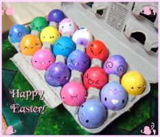 .:Happy Easter:. by PhantomCarnival