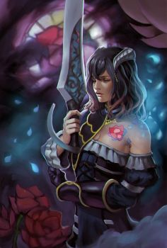 Bloodstained: Ritual of the Night - Miriam by phamoz
