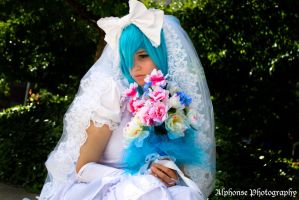 Wedding Hatsune Miku 02 by KyuProduction