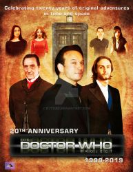 The Doctor Who Project = 20th Anniversary Poster by DJToad