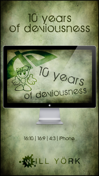 10 years of deviousness by WillYork