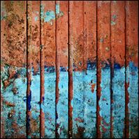 blue brick by katpi