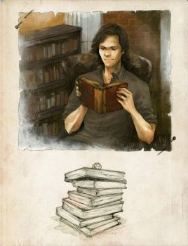 Man Of Letters by ellaine