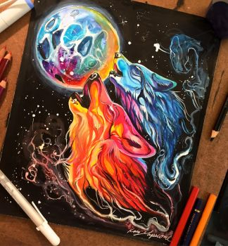 309- Space Howl by Lucky978