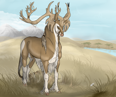 Basajuan | Stag | Soldier by SunsetRevelation