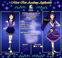 MRA: Tsuki Kagaya app( 2nd Year ) by aliciadreamart