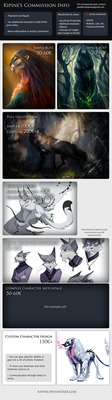Commission Info :: CLOSED by Kipine