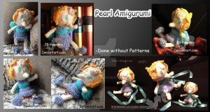 Amigurumi - Pearl from Steven Universe by JB-Pawstep