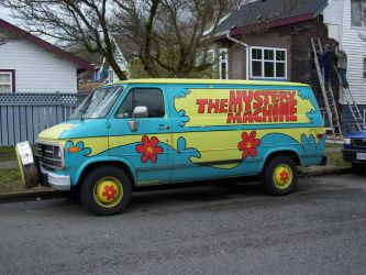 The Mystery Machine by ceruleansuicide