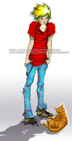 Calvin + Hobbes by Dawitch
