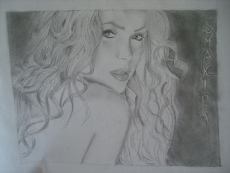 SHAKIRA by VampireAspiration