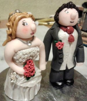 Wedding Toppers - Polymer Clay 3 by tyney123