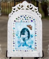 Courtesan Mosaic Frame by Deirdre-T