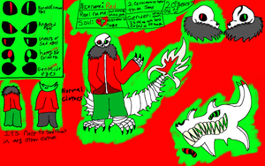 Red The Skeleton (Reference Sheet) by TheEdgyPupper