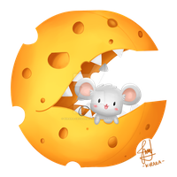 Commission - Cheese8Mouze by Kirara-CecilVenes