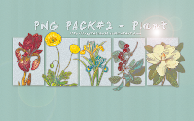 PNG PACK#2 - Plant by Crystallanxi