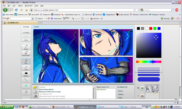 iScribble Licht 2 by Mahotou