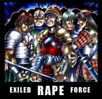 Exiled Force by blackorb00