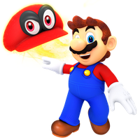 Mario n Cappie by JaysonJeanChannel