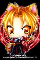 FMA Kitty: Edward Elric by MoonlightAlchemist