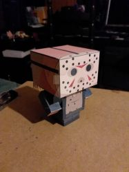 Jason Voorhees 2009 CubeeCraft by SuperVegeta71290