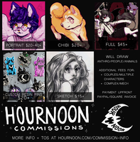 commissions open by hrnoon