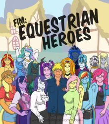 Equestrian Heroes True Cover! by TheRealKyuubi16