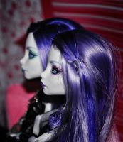 Ghost sisters are watching movies by ItSurroundsMe