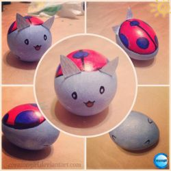 Catbug - I'm an Egg! by corazongirl