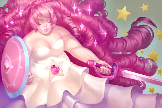 Rose Quartz by PuddingPack