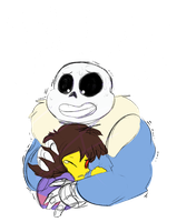 Undertale: You having a bad time? by ZodyZaible