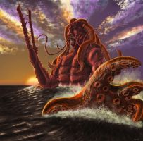 Water Colossus by Sventevoth