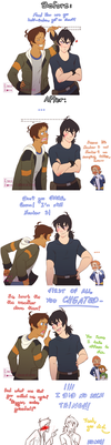 Then and now by pieces-of-a-rose