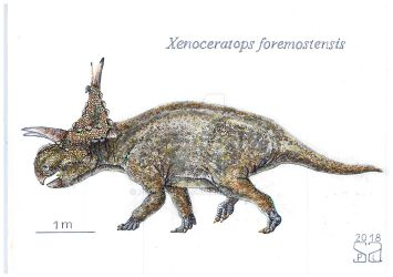 Xenoceratops foremostensis by PedroSalas