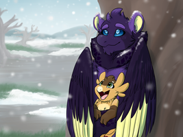 WP25: First Snow by KASAnimation